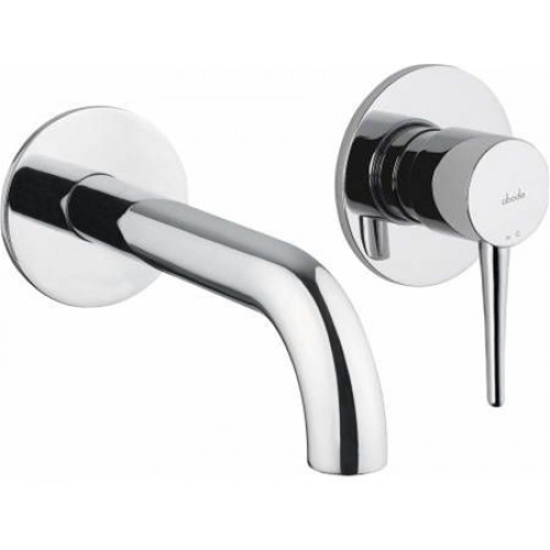 Abode - Chao Wall Mounted 2 Hole Bath Mixer