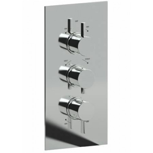 Abode - Harmonie 3 Control Concealed Thermostatic Shower Valve (3 Ex
