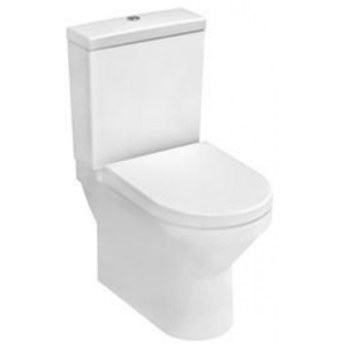 S50 Compact Close-Coupled WC Pan