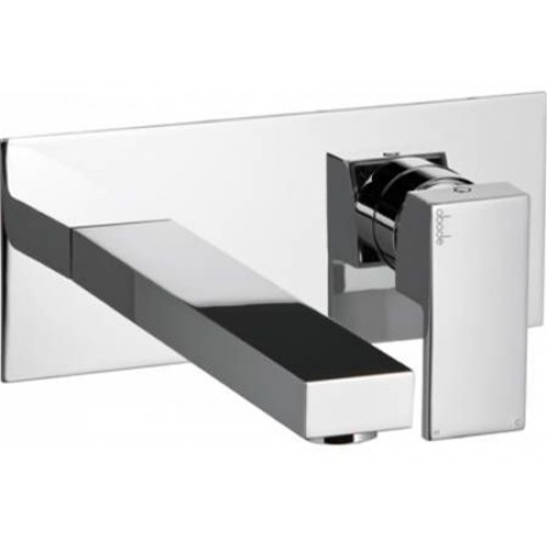 Abode - Cento Wall Mounted Basin Mixer No Waste