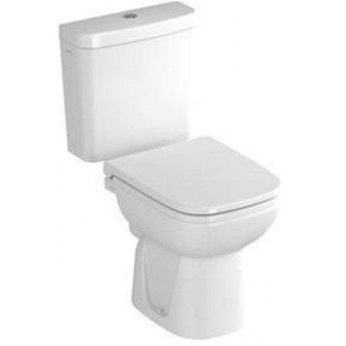 S20 Close-Coupled Open Back WC Pan
