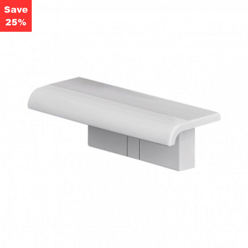 Origins - Pellet AL Aris Shelf White&Wall Brackets