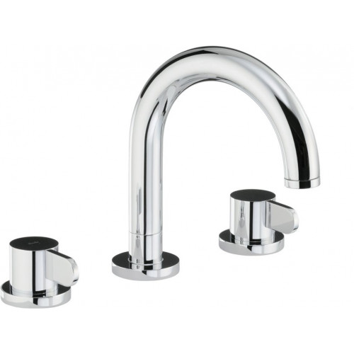 Abode - Bliss Thermo Deck Mounted 3 Hole Bath Mixer