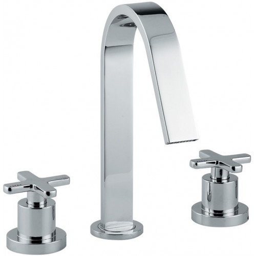 Abode - Serenitie Deck Mounted 3 Hole Basin Mixer