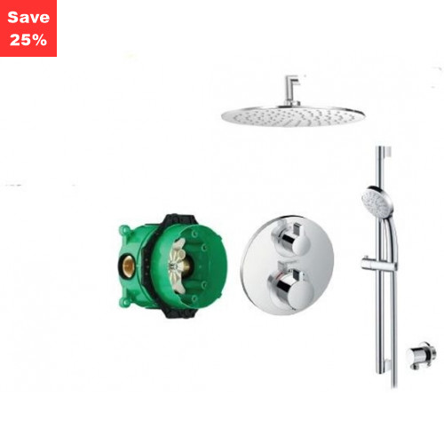 Origins - KIT EP06C - Onyx Plus Thermostatic Shower Kit