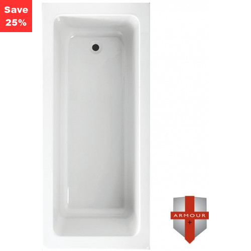 Origins - Citrine 2 Square Bath - 1700 x 750mm