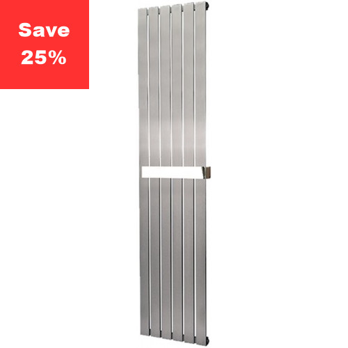 Aventurine Brushed Steel Radiator - 1800 x 410mm