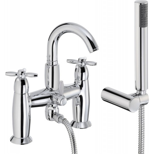 Opulence Deck Mounted Bath Shower Mixer
