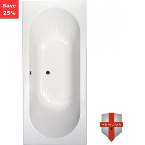 Origins - Citrine 1 Double Ended Bath - 1700 x 750mm