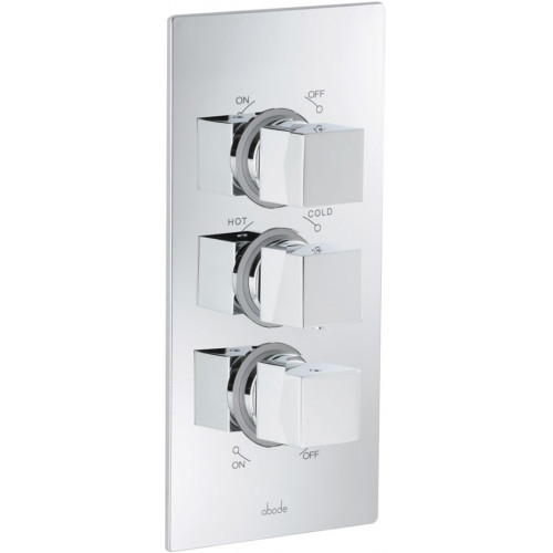 Abode - Zeal 2 Exit Independent Thermostatic Shower Control