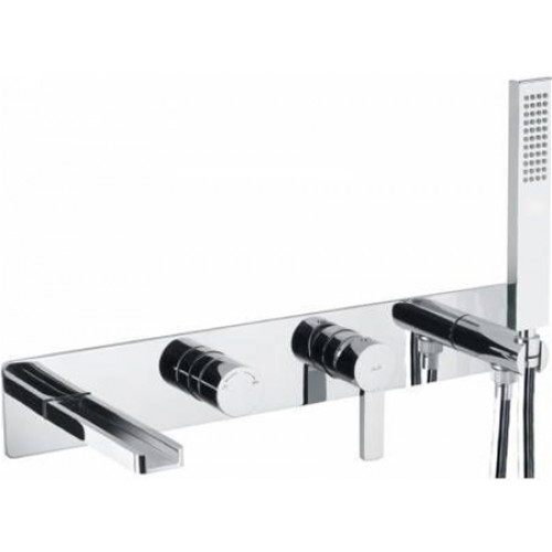 Abode - Modo Wall Mounted Bath Shower Mixer