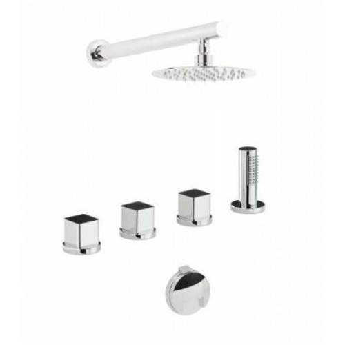 Rapport Deck Mounted Bath Overflow Kit