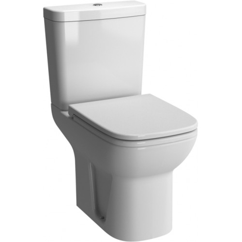 Vitra - S20 Close-Coupled Open Back With Cut Out WC Pan
