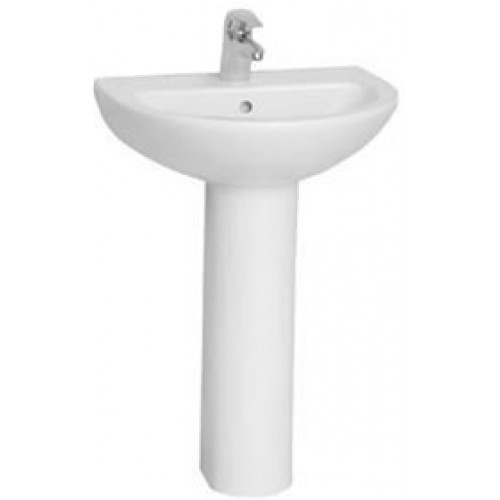 Vitra - Milton Washbasin 57cm 2TH