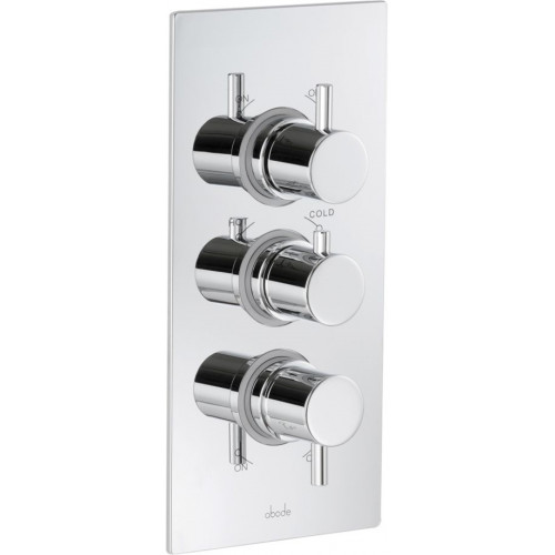 2 Exit Independent Thermostatic Shower Control