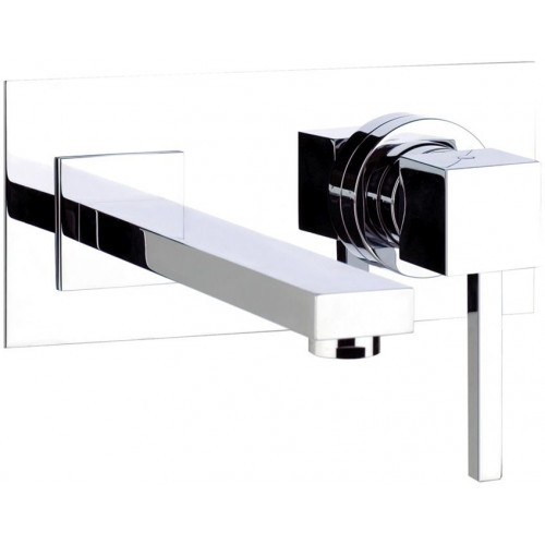 Zeal Wall Mounted Basin Mixer No Waste