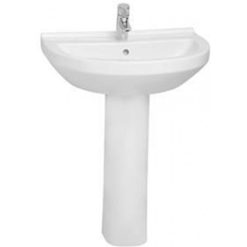 S50 Washbasin 65cm Round 1TH
