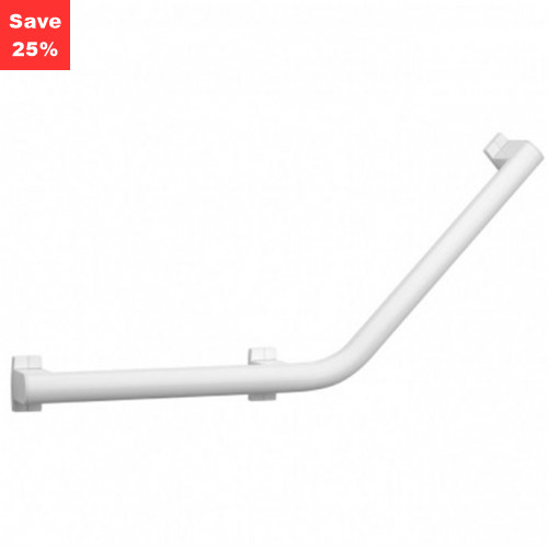 Origins - Pellet AL Arsis Angled Grab Bar 400mm White