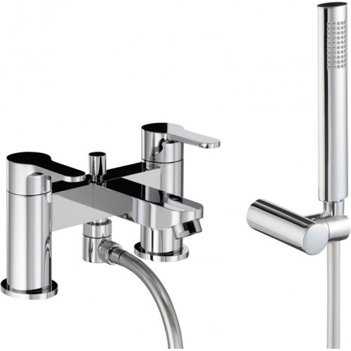 Abode - Debut Deck Mounted Bath Shower Mixer