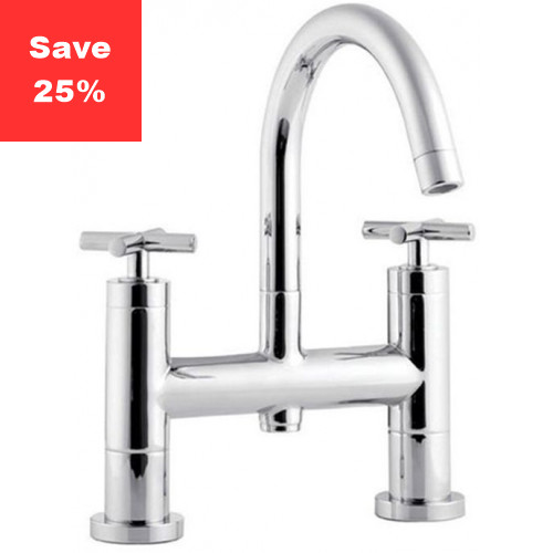 Sunstone Deck Mounted Bath Mixer Tap
