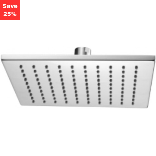 Origins - Onyx Square Fixed Shower Head 250mm Chrome