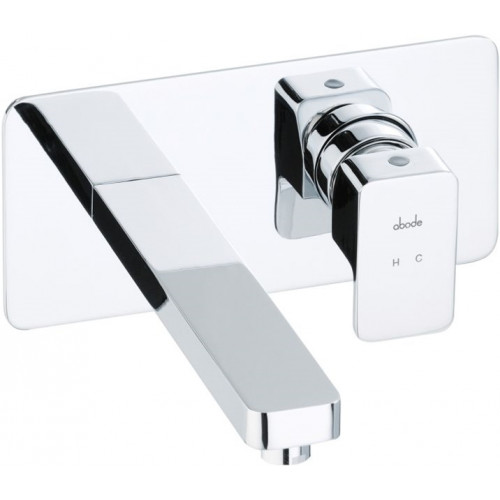 Abode - Fervour Wall Mounted Basin Mixer No Waste