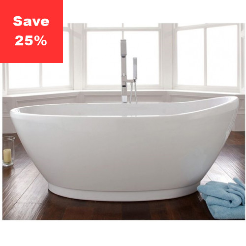 Coral S Freestanding Slipper Bath 1700x800mm