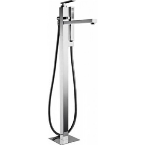 Abode - Marino Floor Standing Bath Filler With Shower Handset