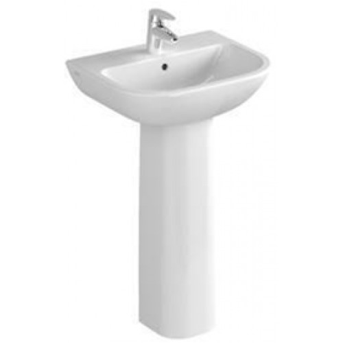 S20 Cloakroom Washbasin 50cm 1TH