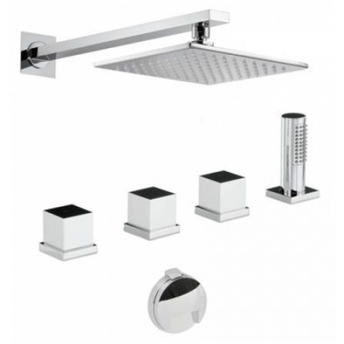 Zeal Thermo Deck Mounted Bath Overflow Filler Kit