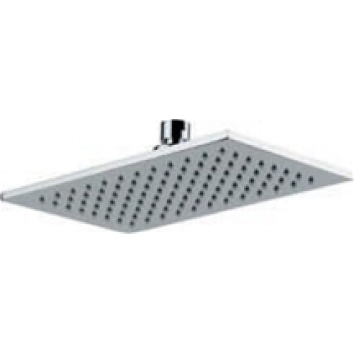 Abode - Euphoria Storm Rectangular 7mm Showerhead - 250 x 150mm