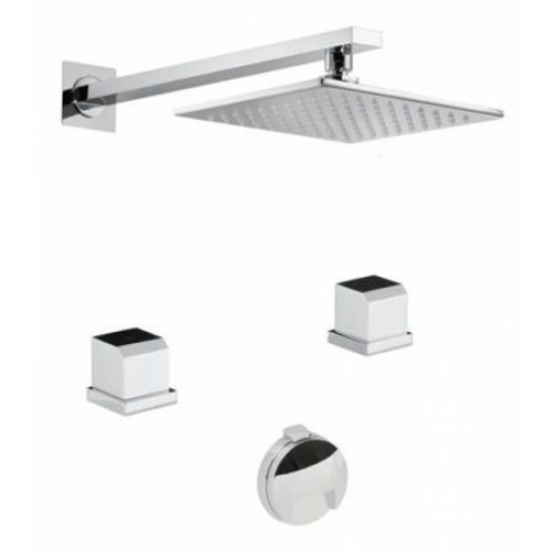 Abode - Extase Thermo 2H Bath Overflow Filler Kit
