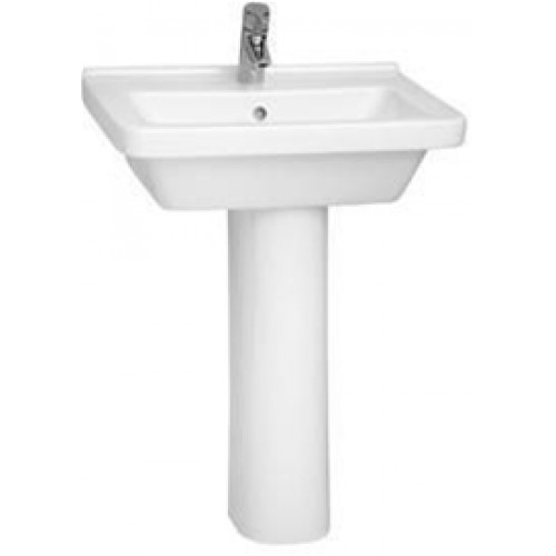 S50 Washbasin 60cm Square 1TH