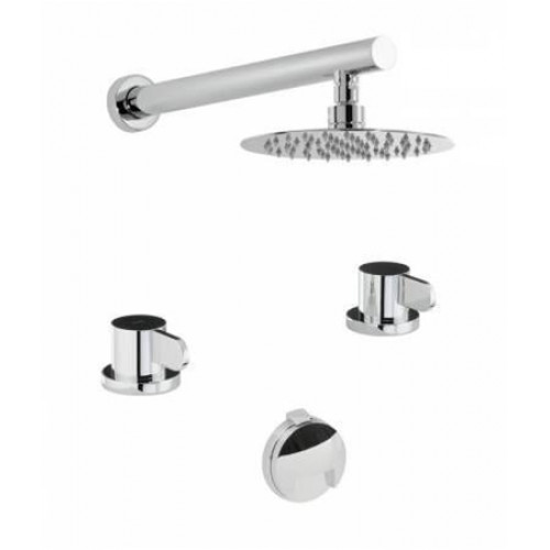 Abode - Bliss Thermo 2 Hole Bath Overflow Filler Kit