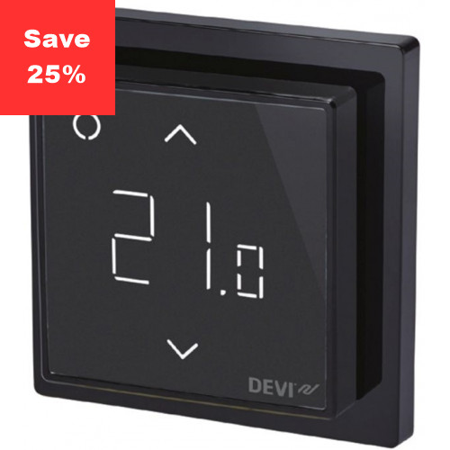 Fire Opal Smart Thermostat (Black)