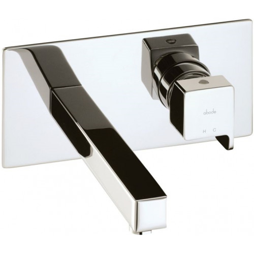 Abode - Rapport Wall Mounted Basin Mixer No Waste