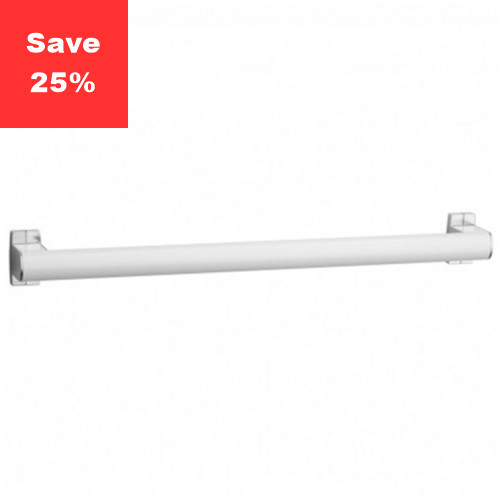 Pellet AL Aris Single Towel Bar 800mm White Chrome