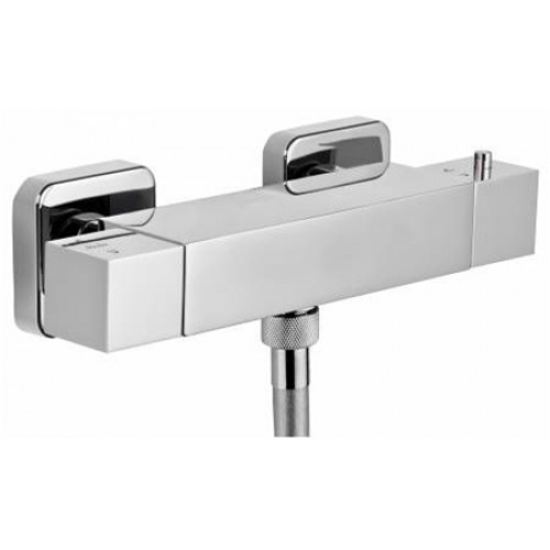 Abode - Zeal Exposed Thermostatic Bar Shower Valve