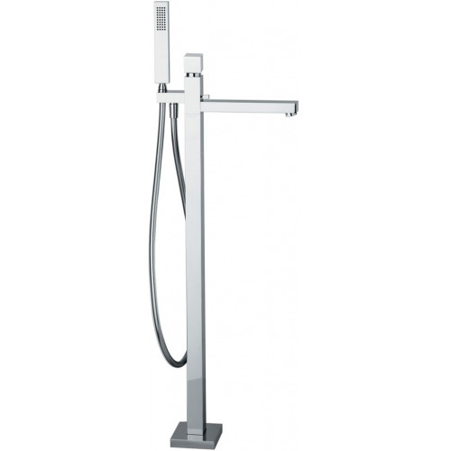 Abode - Zeal Floor Standing Bath Filler