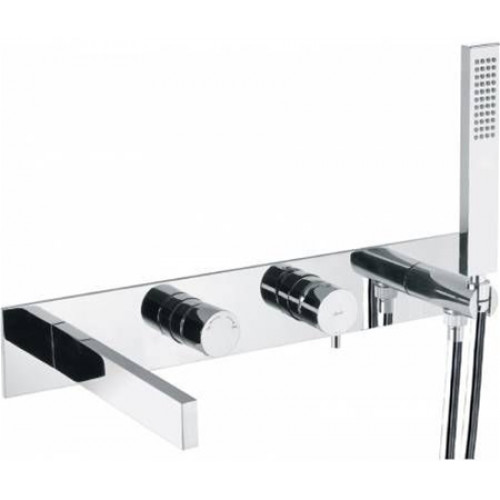 Abode - Cyclo Wall Mounted Bath Shower Mixer