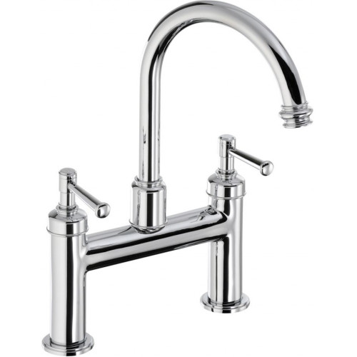 Abode - Gallant Deck Mounted Bath Filler