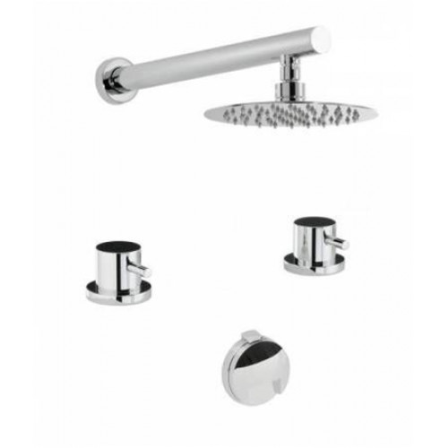 Abode - Harmonie Thermo 2H Bath Overflow Filler Kit