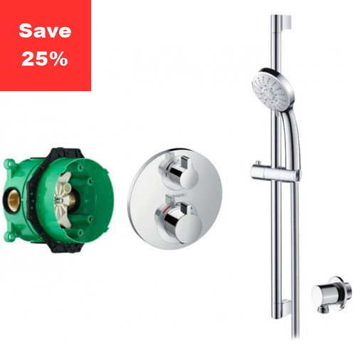 KIT EP01 - Onyx Plus Thermostatic Shower Kit