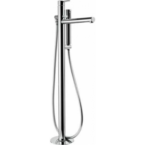 Abode - Tanto Floor Standing Bath Filler With Shower Handset