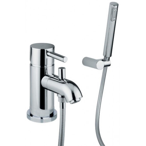 Abode - Harmonie Monobloc Bath Shower Mixer With Shower Diverter