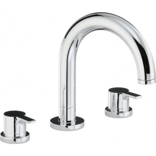 Desire Thermo Deck Mounted 3 Hole Bath Mixer