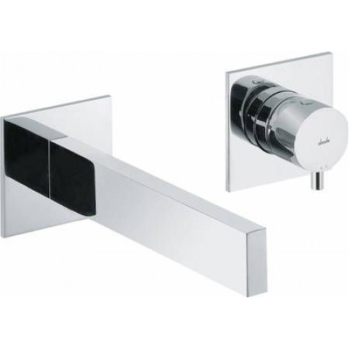 Abode - Cyclo Wall Mounted 2 Hole Bath Mixer