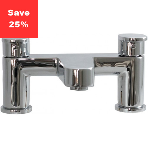 Spinel Deck Mounted Bath Filler Tap