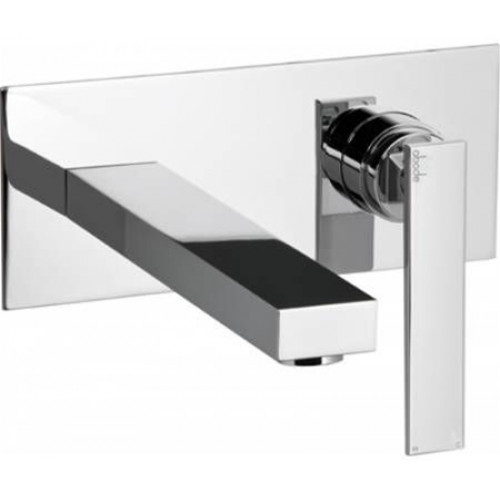 Abode - Marino Wall Mounted Basin Mixer No Waste