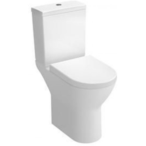 S50 Comfort Height Close-Coupled Open Back WC Pan